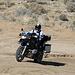 Motorcyclist Climbing Mengel Pass (9705)