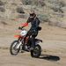 Motorcyclist Climbing Mengel Pass (9699)