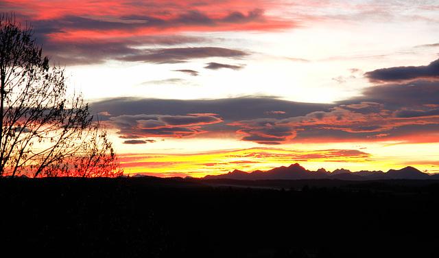 The Alps at sunrise II