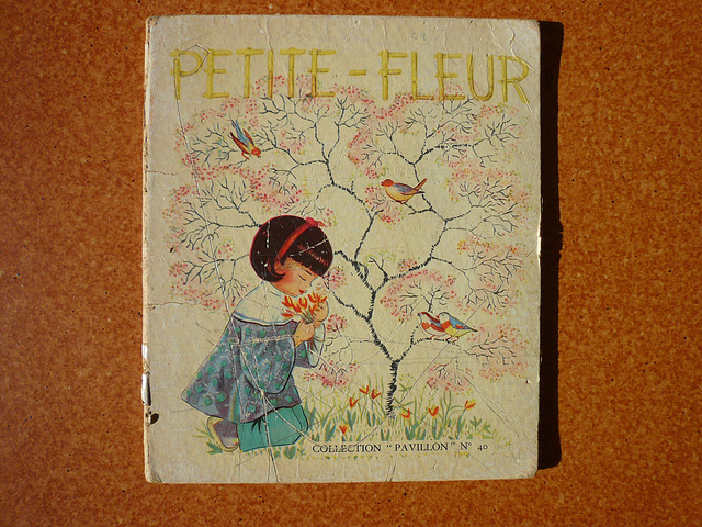 Vintage Children Book Illustration