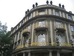 Berlin, golden varanda