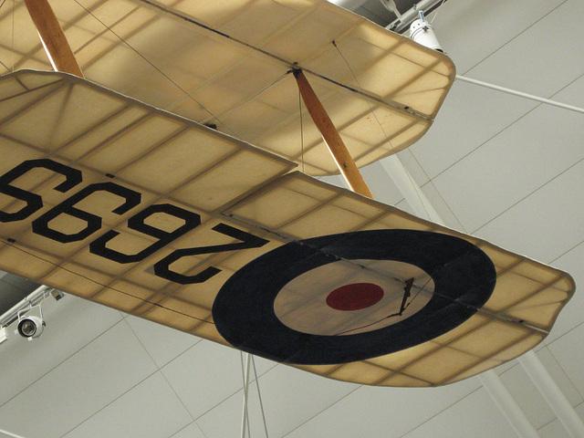 Biplane at Imperial War Museum