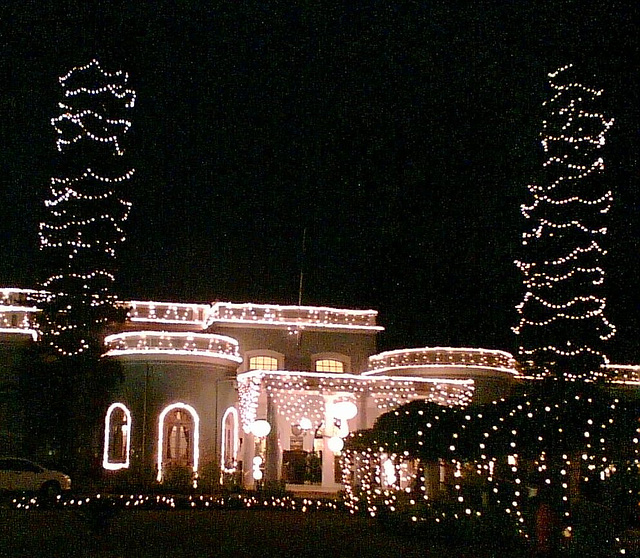 Bangalore Club Christmas Lights