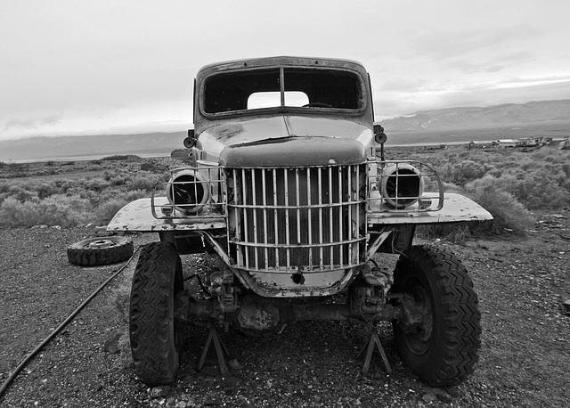 Dodge Truck From Barker Ranch At Ballarat (9548A)