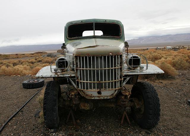 Dodge Truck From Barker Ranch At Ballarat (9548)