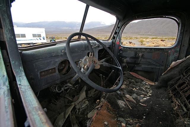 Dodge Truck From Barker Ranch At Ballarat (9549)