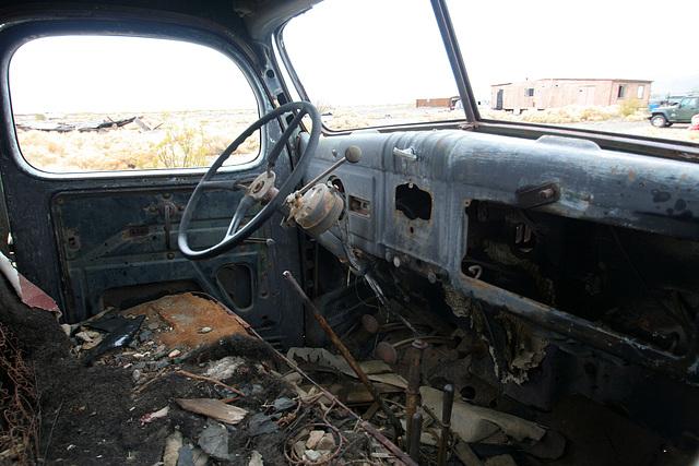 Dodge Truck From Barker Ranch At Ballarat (9553)