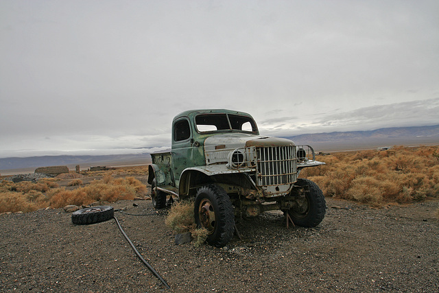 Dodge Truck From Barker Ranch At Ballarat (9547)