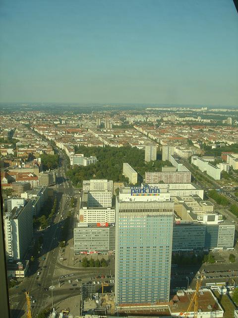 Berlin vue du ciel