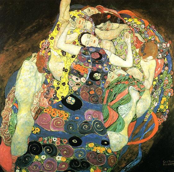 Les Vierges, œuvre de Gustav Klimt