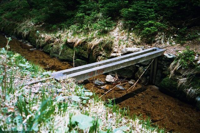 Canal Lock On Schwartzenberg Canal In Sumava, Bohemia(CZ), 2007