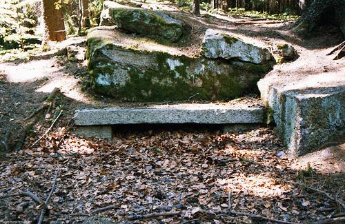 Bunker??? (Sumava Hike Picture 7), Sumavsky Narodni Pamatka, Budejovicky Kraj, Bohemia(CZ), 2007