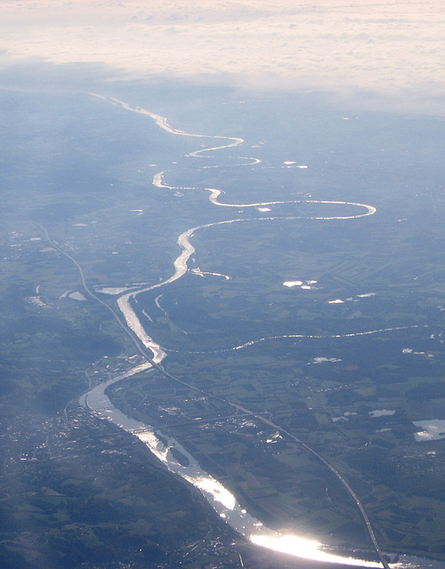The silver Danube