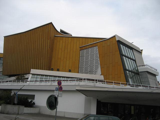 Berlin, Kulturforum, Philharmonie