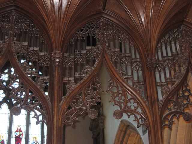 Pennshurst church interior