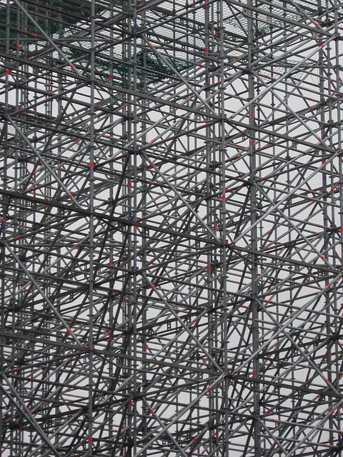 Leipziger Platz scaffolding
