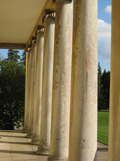 Polesden Lacey pillars
