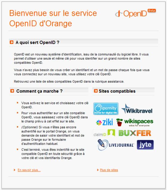 openID orange