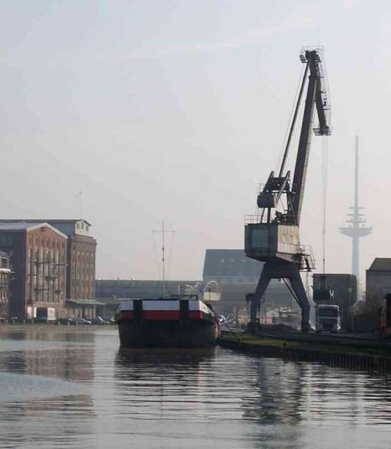 am Hafen von Münster