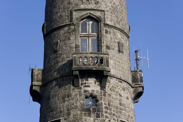 Der Turm vom Hohen Schneeberg