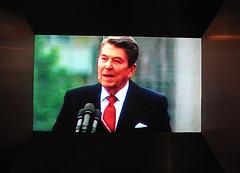 Reagan spoke