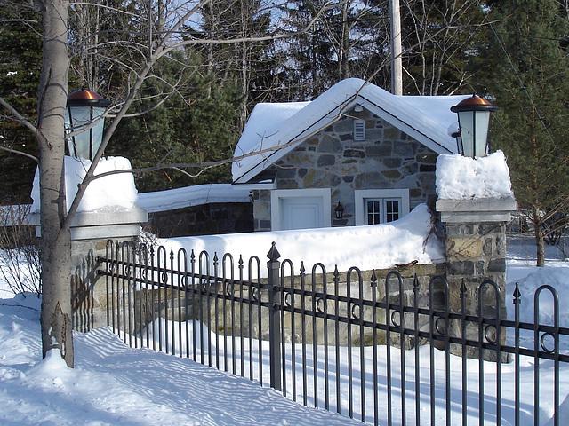 St-Benoit-du-lac / Québec- CANADA - 7 février 2009