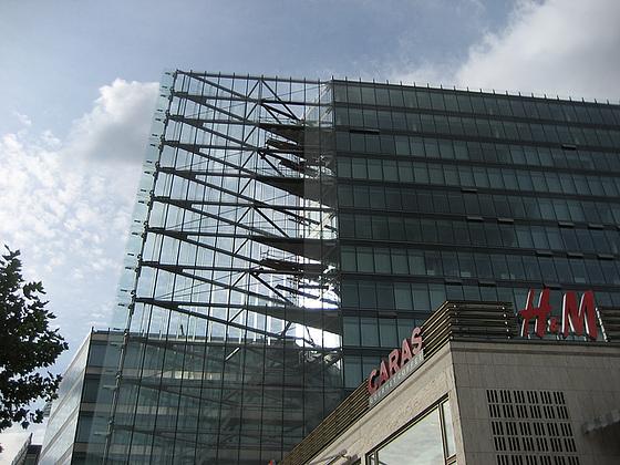 Berlin, building at Kurfürstendamm