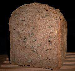 100% Volkoren-pompoenpittenbrood 2