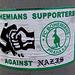 Bohemians supporters against Nazis