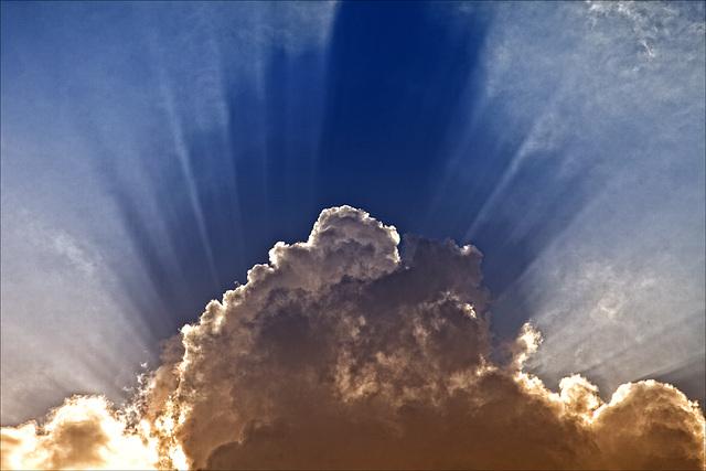 fan in the sky........