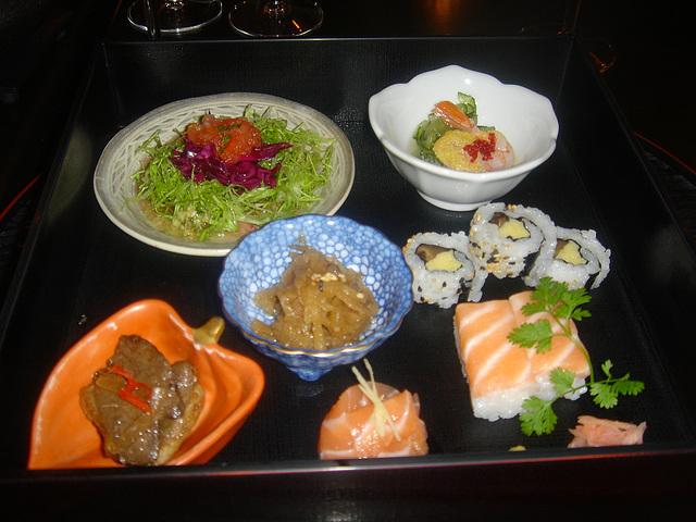 Assortiment de sushis