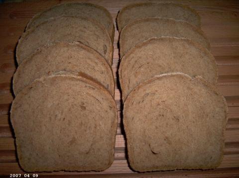 Hvetebrød - Norwegian Whole Hheat Bread 2