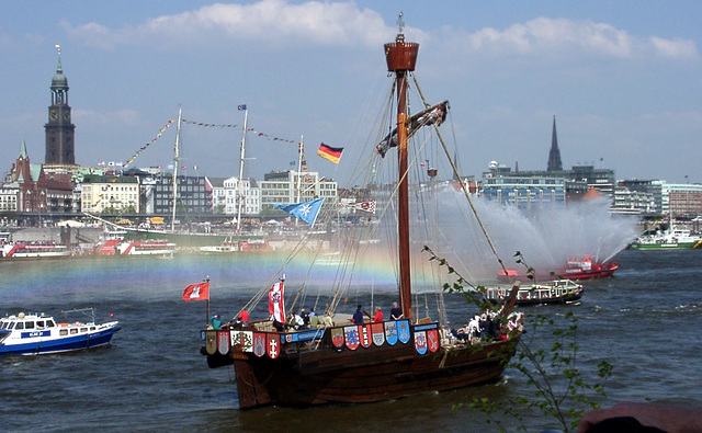 Historical ship