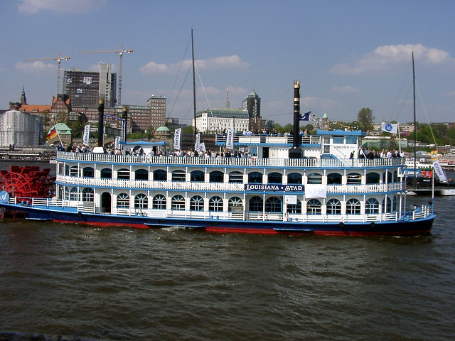 "Paddlesteamer ""Louisiana Star"""