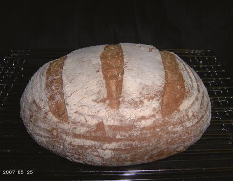 Stone-Ground Wheat Bread 1