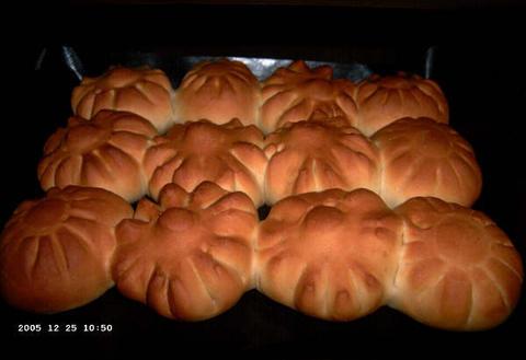 (Mislukte) Kerstontbijtbroodjes