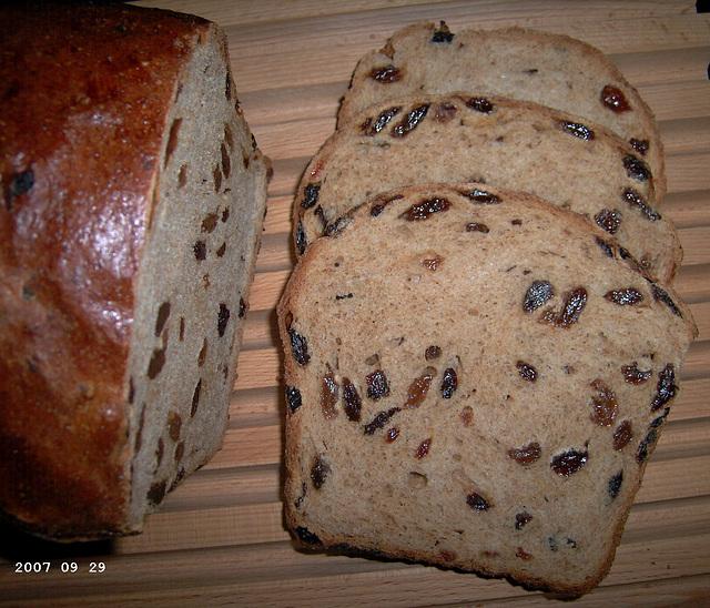 Hearty Raisin Bread 1