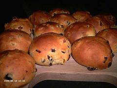 Krenten-Rozijnenbolletjes