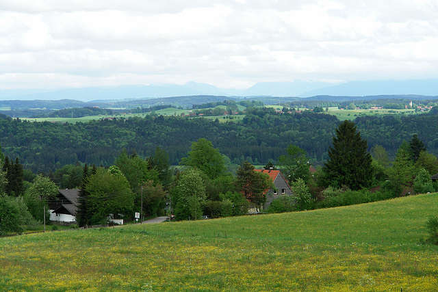View on Isar Valley