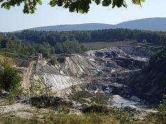 Weenzer-Bruch Grube für hochwertigen Quarzsand
