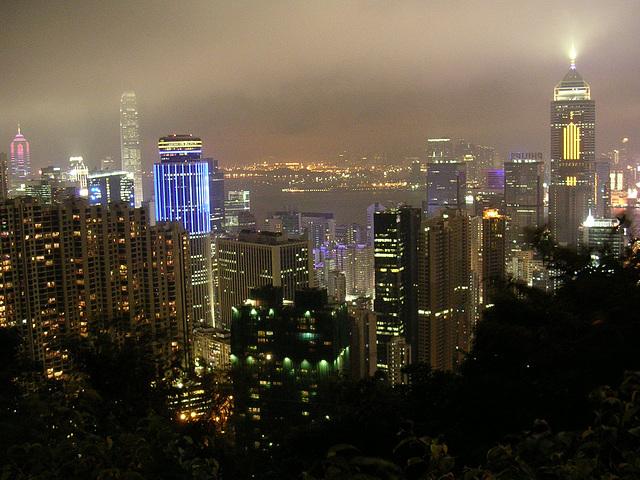 nachts in hongkong
