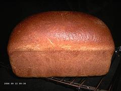 Bruinbrood van tarweras Claire