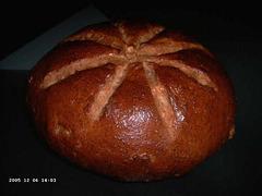 Notenbrood van speltmeel