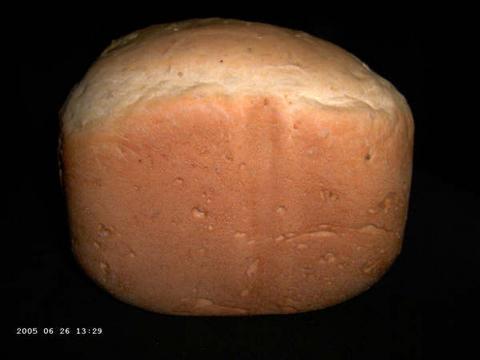 Popcornbrood uit bbm