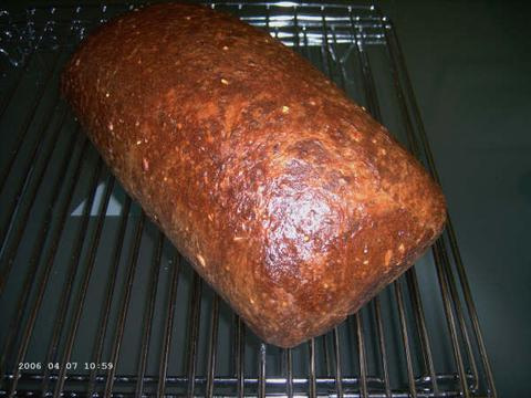 Waldgraanbrood van de molen