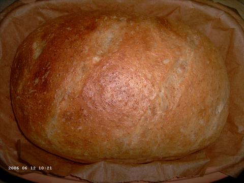 Buttermilk Wheat Bread uit de romertopf 1