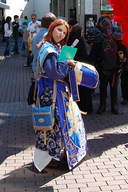Van-Sin als Sima yi (Dynasty Warrior)