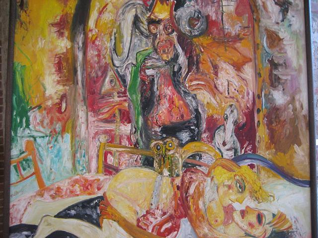 Spandau (Zitadelle), Exhibition John Bellany