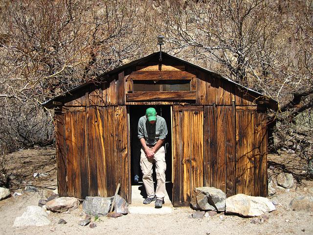 Newman Cabin in Goler Wash (4252)