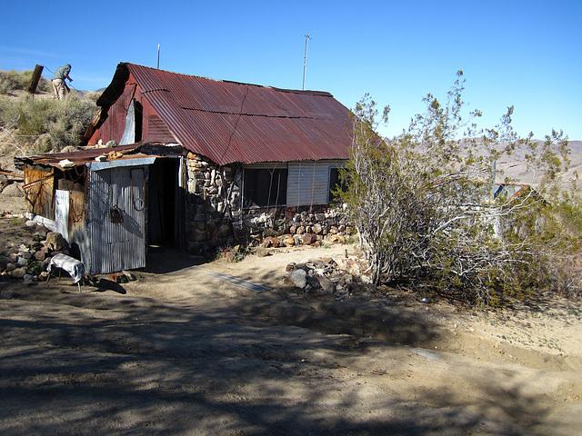 Cabin In Striped Butte Valley (4295)